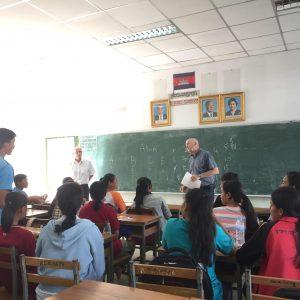 english teacher in Cambodia