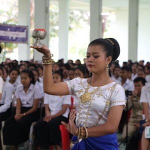 Cambodia - school year opening ceremony