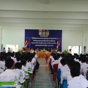 opening school year in Cambodia