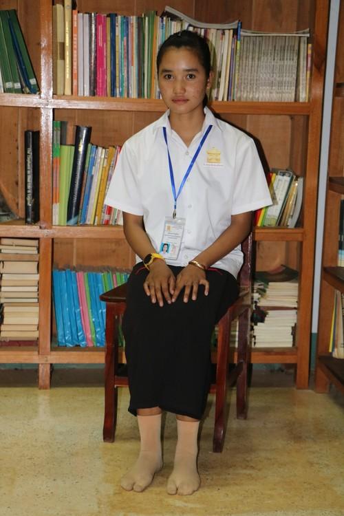 Chein sponsor a student in Cambodia