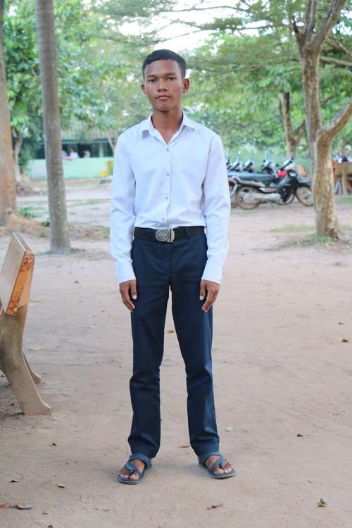 Sok student in Cambodia