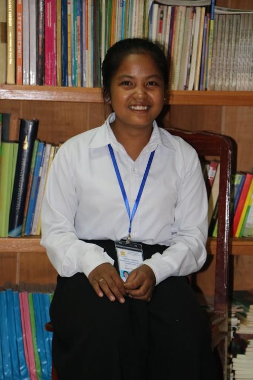 Srey =- fund a student in Cambodia