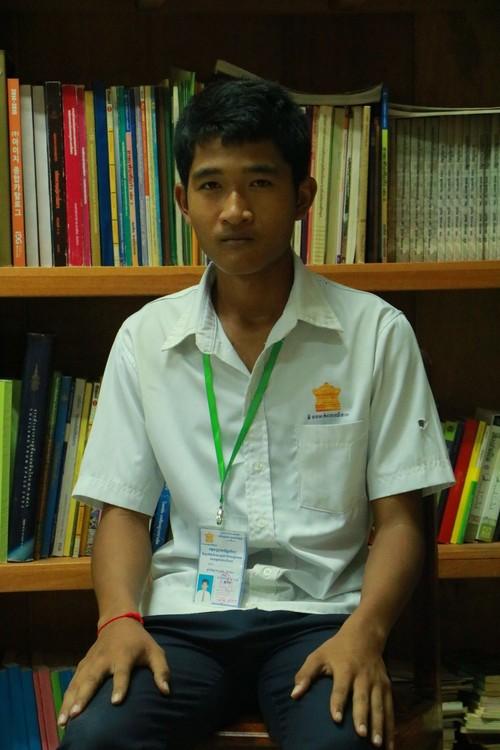 Vothy student needing funding in Cambodia