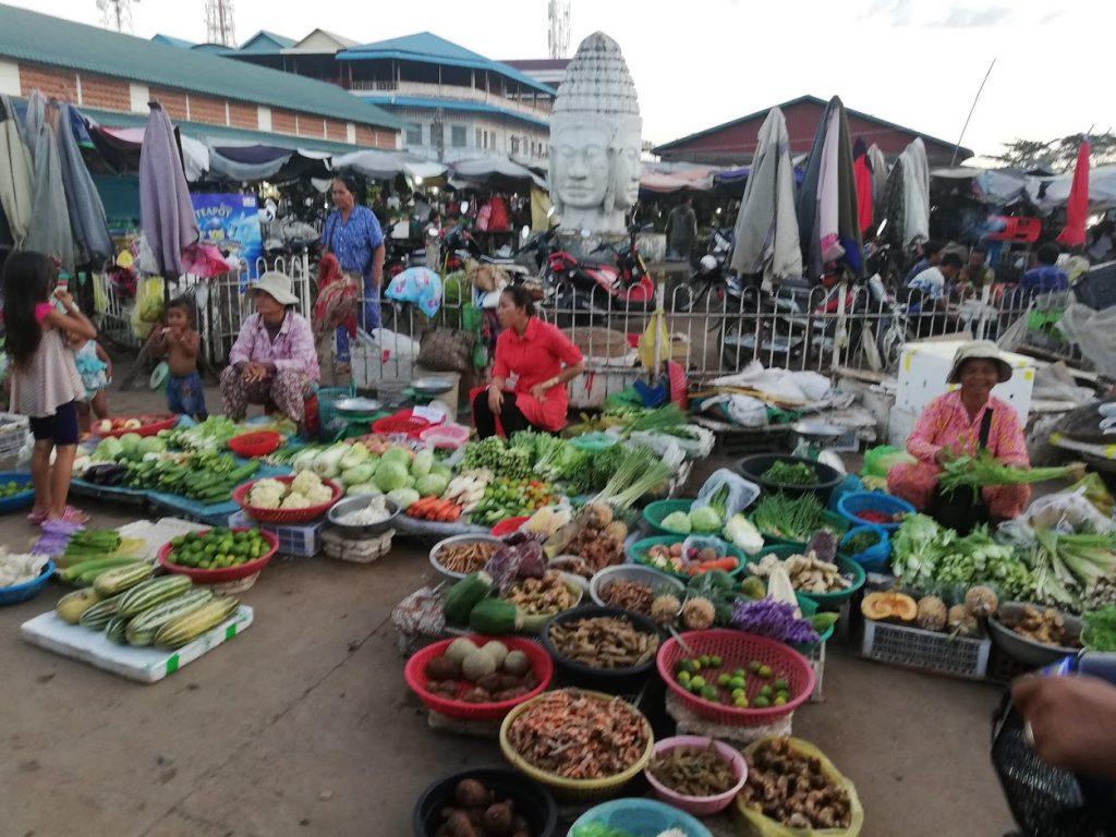 Kampong Thom Market, Cambodia